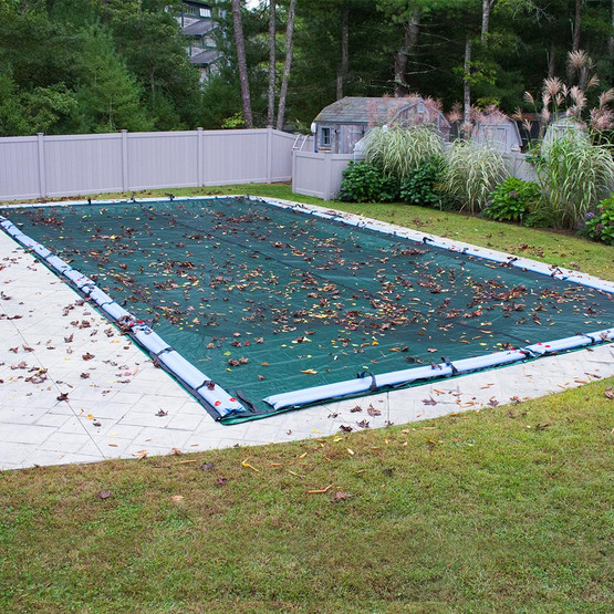 Premium net 18 x 36 rectangle cover pool cover center - Above ground swimming pools orlando florida ...